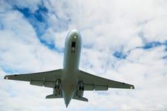 Passagierflugzeug Lizenzfreie Stockfotos