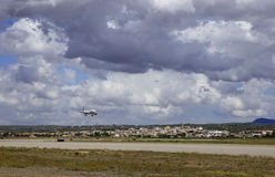 Passagierflugzeug 011 Stockbild