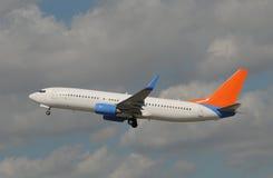 Passagierflugzeugflugzeug Stockfotografie