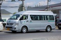 Passagiersbestelwagen van het Park van de Olifantsaard Royalty-vrije Stock Foto