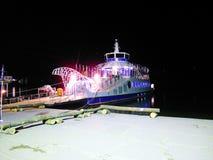 Passagiersboot op het Eiland Nami Royalty-vrije Stock Afbeeldingen