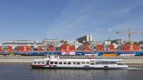Passagierschiff Moscow-21 stockbilder