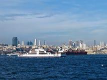 Passagiersschip Sahilbent Royalty-vrije Stock Afbeeldingen