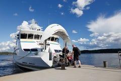 Passagiersschip Vaddo Royalty-vrije Stock Afbeeldingen