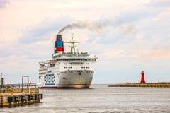 Passagiersveerboot Royalty-vrije Stock Foto's