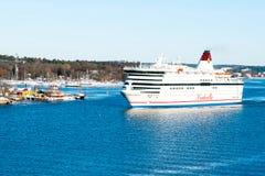 Passagiersveerboot Stock Foto's