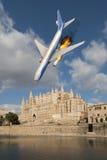 Passagiersvliegtuig Stock Foto's