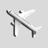Passagiersvliegtuig Stock Afbeelding