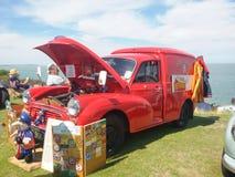 Passande skåpbil för brevbärare Royaltyfri Foto