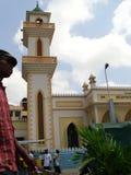 Passando dalla moschea Fotografia Stock