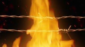 Passando o arame farpado no fogo filme