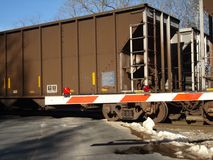 Passando trens fotografia de stock royalty free