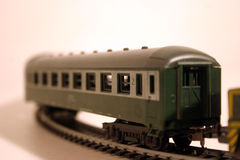 Passanger carriage 2. Toy train series - passanger carriage stock images