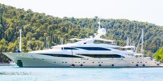 Passanger cruise boat Stock Image