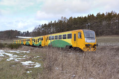 Passanger train Stock Image