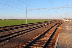 passangerstationsdrev Fotografering för Bildbyråer