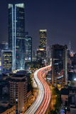 Passant par la ville, Changhaï Photos libres de droits
