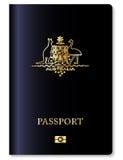 Passaporte australiano Fotografia de Stock