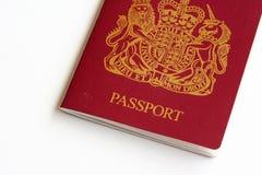Passaporte britânico Fotos de Stock