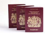 Passaporte britânico Imagem de Stock Royalty Free