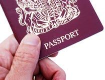Passaporte britânico Fotos de Stock Royalty Free