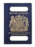 Passaporte britânico velho Fotos de Stock