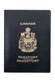 Passaporte canadense imagens de stock