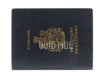 Passaporte canadense vago Foto de Stock
