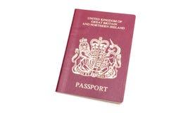 Passaporte de BNO imagem de stock