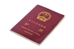 Passaporte de China Fotografia de Stock