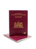 Passaporte de dois Dutch Fotografia de Stock