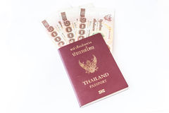 Passaporte de Tailândia Imagem de Stock