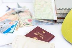 Passaporte de Tailândia para o turismo Imagens de Stock Royalty Free