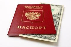 Passaporte do russo Foto de Stock