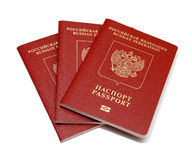 Passaporte do russo fotografia de stock royalty free