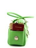 Passaporte em um bolso Imagem de Stock Royalty Free