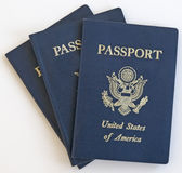 Passaporte Estados Unidos Fotos de Stock Royalty Free