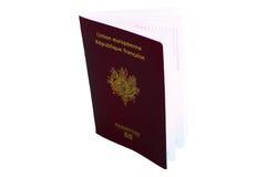 Passaporte europeu a viajar Imagens de Stock Royalty Free