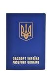 Passaporte extrangeiro do ucraniano fotos de stock royalty free