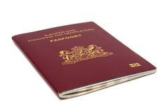 Passaporte holandês foto de stock