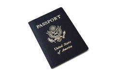Passaporte isolado Imagem de Stock