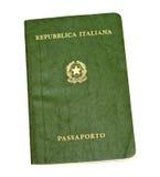 Passaporte italiano velho imagens de stock