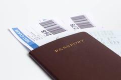 Passaporte para o curso Imagens de Stock