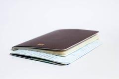 Passaporte para o curso Imagem de Stock