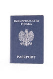 Passaporte polonês Imagens de Stock Royalty Free
