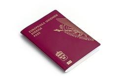 Passaporte sueco Fotos de Stock