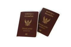 Passaporte tailandês Fotos de Stock