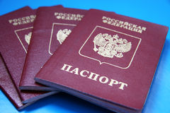 Passaportes Imagens de Stock Royalty Free