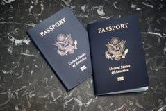 Passaporti degli Stati Uniti Fotografie Stock