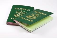 Passaporti filippini Immagine Stock Libera da Diritti